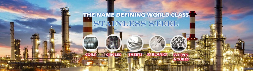 COLD ROLLED STAINLESS STEEL PRODUCTS LIKE COILS, SHEETS, CIRCLES, SS BLANKS, SS PIPES & TUBES